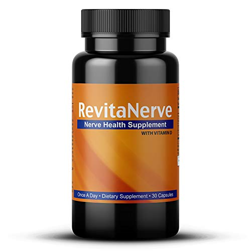 Neuropathy Pain Relief, Once-per-Day, Nerve Revitalizing Supplement Protect and Regenerate Nerves (1 Bottle 30 Count) (Best Alternative Medicine For Neuropathy In Feet)