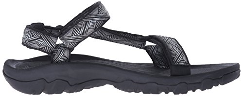 Geometric Schwarz Sandals XLT Black M's Teva Men's 475 Athleitc Noir Hurricane SanAPx8