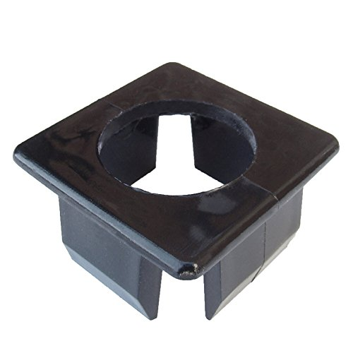 Fiberon 30-Pack Black Rail Round Bal Ins
