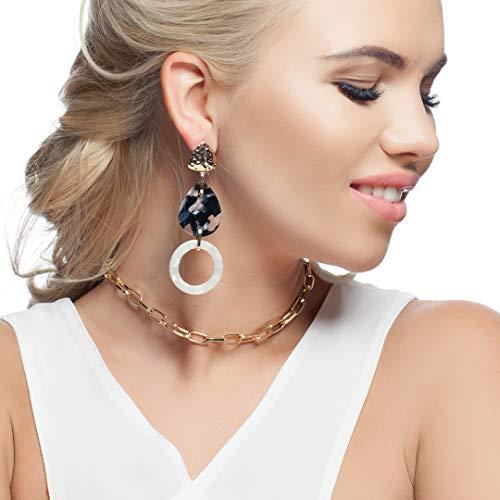 Earrings for Women - Jewelry for Women - Dangle Earrings - Stud Earrings for Women - Earrings for Women Fashion - Hypoallergenic Earrings - Womens Jewelry - Fancy Earrings (Retro style)