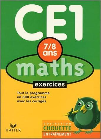 En ligne Chouette Entraînement : Maths, du CE1 au CE2 - 7-8 ans (+ corrigés) pdf epub