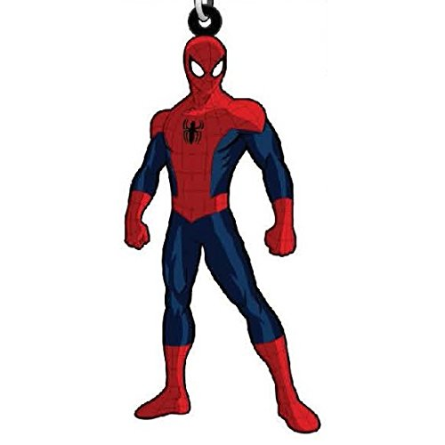 - Spider-Man - Marvel Comics - Rubber Keychain