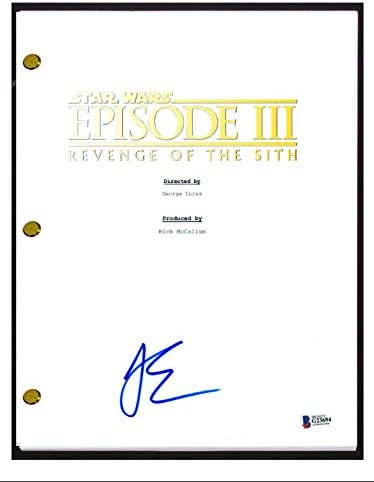 Joel Edgerton Signed Star Wars Episode Iii Revenge Of The Sith Script Bas Coa At Amazon S Entertainment Collectibles Store