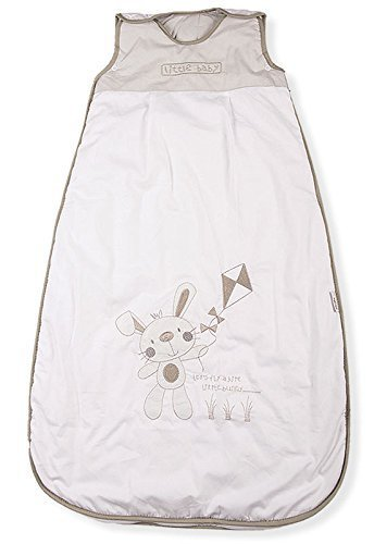 Baby Sleeping Bag, Bunny & Kite, Kiddy Kaboosh Various Sizes, Winter Weight, 3.5 Tog, Size 1: 0-6 Months, Cosy & Safe, Perfect Presents, Machine washable Mr Sandman