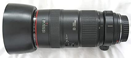 amazon com canon ef 80 200mm f 2 8 l zoom lens camera lenses rh amazon com Canon EF 35Mm Lens Canon 18 50 Lens Review