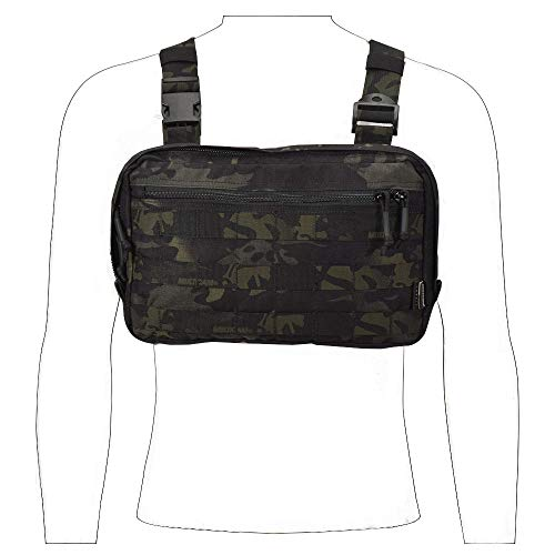 ck,Concealment Holster for Concealed Carry Holster Also for Hiking, Bicycling, Skiing, Motorcycle,Riding Multicam Black ()