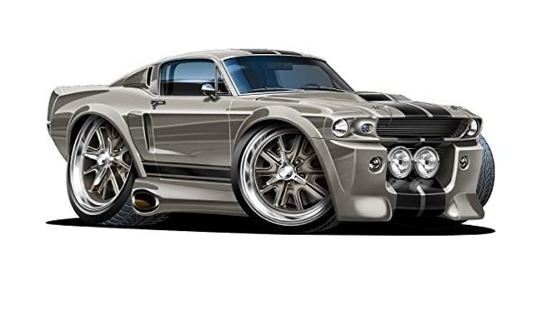 Amazoncom 12 Shelby Mustang Gt 500 Eleanor Wall Decal Ford