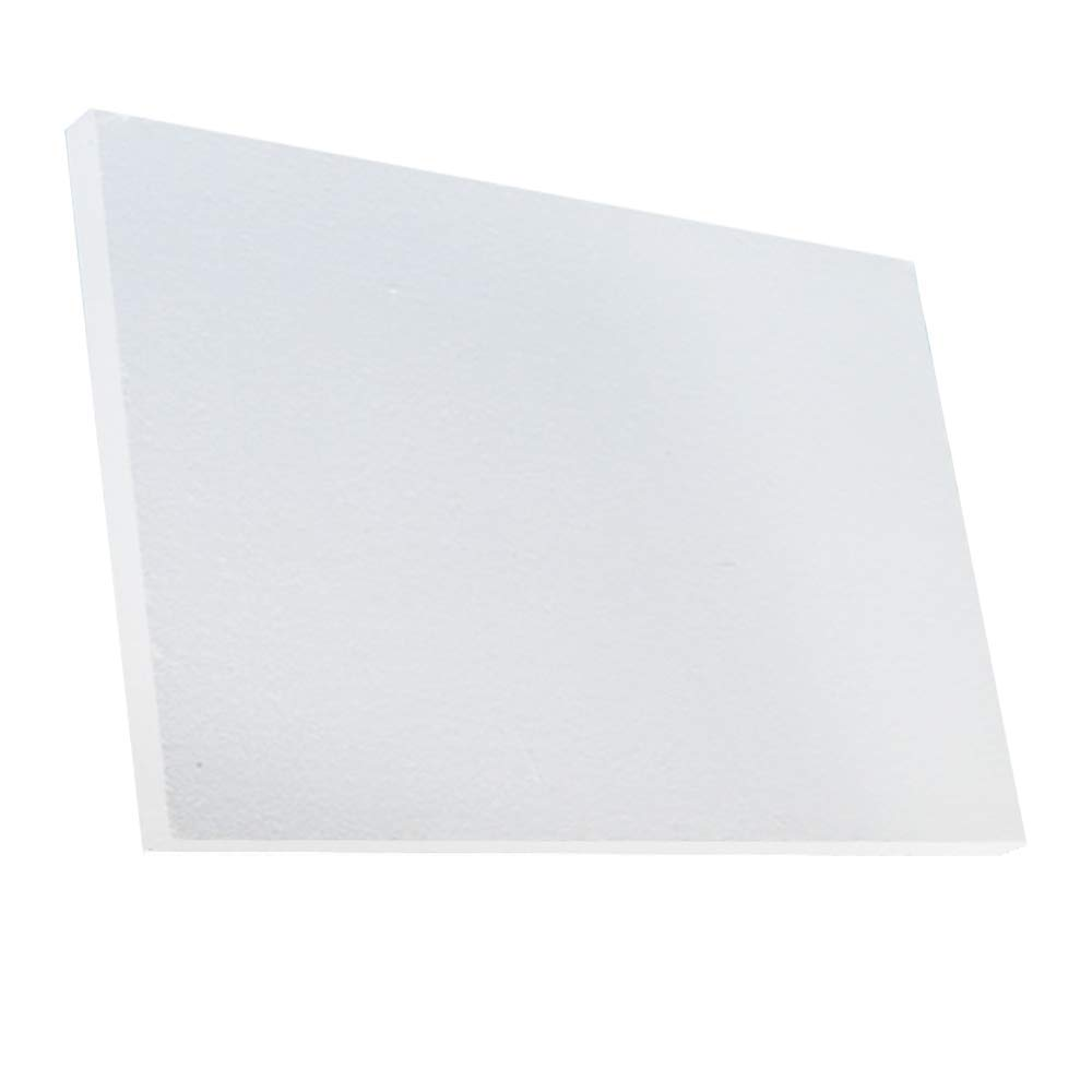 Ceramic Fiber Insulation Board 2300 F 4'' X 19.7'' X 39.4'' for Thermal Insulation in Wood Stoves, Fireplaces, Pizza Ovens, Kilns, Forges & More.