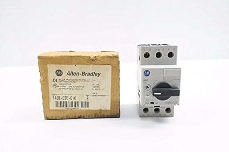 Allen badley 140m-c2e-c16 manual motor starter new in box   plc.