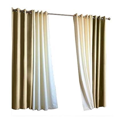 Uv Resistant Outdoor 50w X 108l Grommet Top Curtain In Khaki Plow