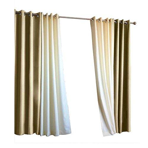 UV-Resistant Outdoor 50''W x 108''L Grommet-Top Curtain, in Khaki