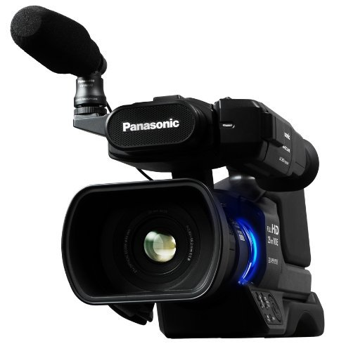 Panasonic AG-AC8PJ Shoulder Mount Video Camera with 3-Inch LCD (Black) SSE Kit Includes: 16GB Memory Card, USB Memory Card Reader, Extended Life Replacement Battery, Rapid Travel Charger, HDMI Cable, 70 inch Tripod, Table Top Tripod, LCD Screen Protectors & Cleaning Kit