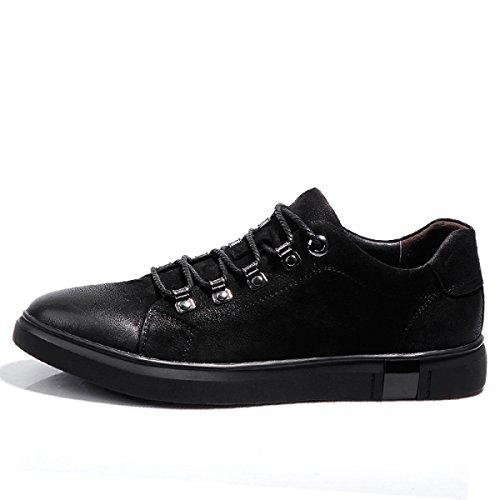 NBWEMen Sport De Chaussures Véritable Black De Cuir En w7xUAfq
