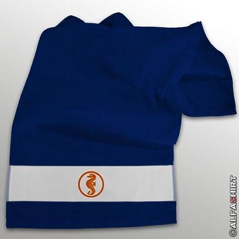Caballito de mar niños Piscina flotador parche logotipo - toalla azul #11272: Amazon.es: Hogar