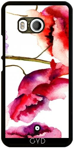 Funda para Htc U11 - Estampado De Flores 02 by Aloke Design