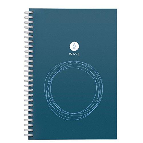 【 스가 사랑 한 스마트 노트 】 로켓 북 웨이브 Rocketbook Wave 【 전자 노트 전자 수첩 메모장 교정 노트 학습 노트로 】 (수첩 크기) / [Smart notebook loved by the United State
