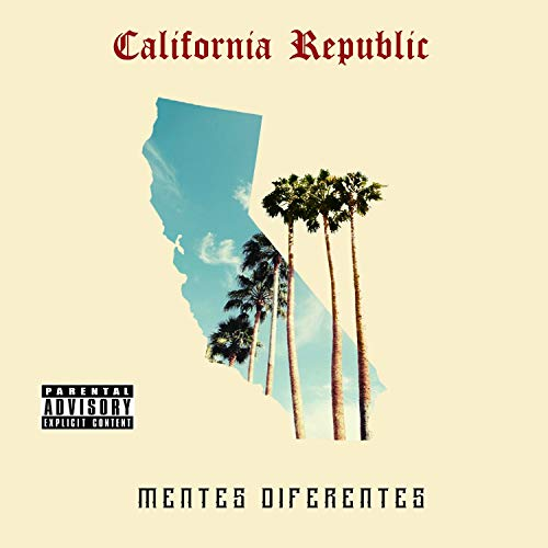Original album cover of California Republic by Mentes Diferentes