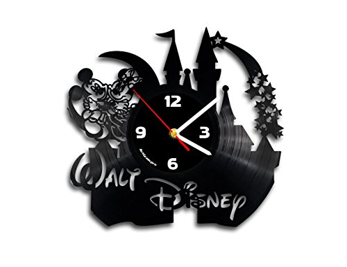 Disney Mikey Mouse vinyl record wall clock