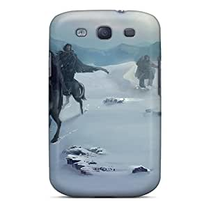High Quality Shock Absorbing Case For Galaxy S3-game Of Thrones - Nights Watch Patrol