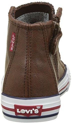 Levis Jungen Trucker Hi Fw Hohe Sneaker Braun (Dunkelbraun)