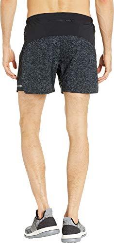 Brooks Men's Sherpa 5'' Shorts Black Static/Black Medium 5 by Brooks (Image #2)
