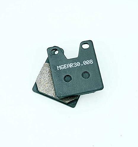 RN01 MetalGear Bremsbel/äge hinten f/ür Yamaha YZF R1 1000 1997-1999