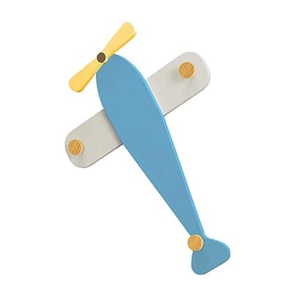 JIAYING Percheros Perchero, Aviones creativos para niños ...