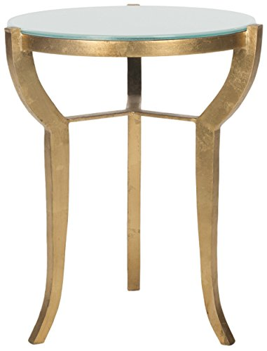 Safavieh Home Collection Ormond Gold Accent Table Review
