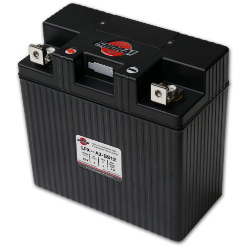 Shorai LFX36A3-BS12 Extreme Rate Lithium Iron Powersports Battery
