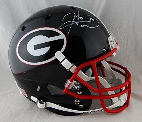 Hines Ward Autographed Georgia Bulldogs Schutt F/S Black Helmet- JSA-W Auth White