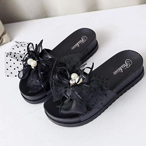 Qiusa Open Bling Fit 6 Taille coloré Pour Outdoor Glitter 3 Flat Noir 8 Wide Beige Toe Cuir Strass Diamante Summer Beach Jeweled Uk Pantoufles Cushion En Dames Pantshoes rqIxw6ArC