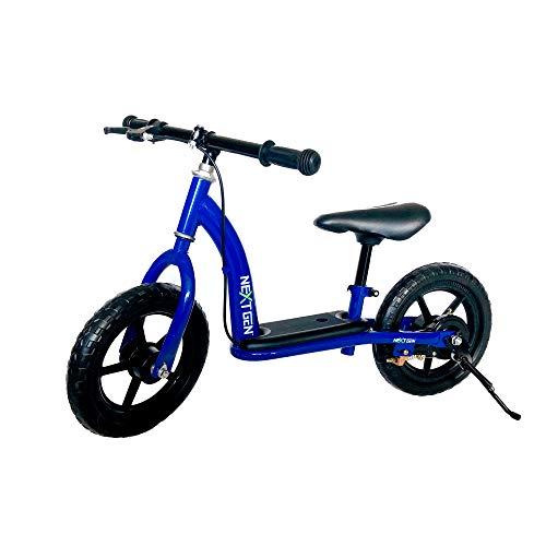 NextGen 12BALBK-BLU Children's Training Balance Bike with 12 Inch Tires, Blue
