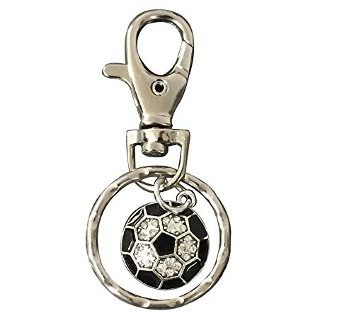 Infinity Collection Soccer Keychain, Soccer Gifts, Soccer Zipper Pull, Proud Soccer Player, Team or Coach Gifts -