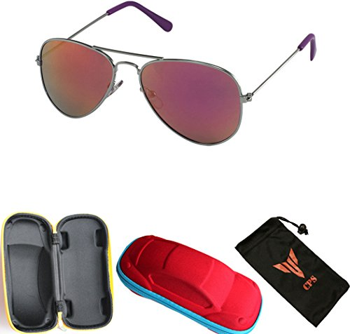 Buy 1 or 2 Pairs Discount Pricing Kids Aviator Retro Classic Oval Frame Revo Lens Sunglasses (Age- 2 to 9 Yrs - Bulk Buy Sunglasses