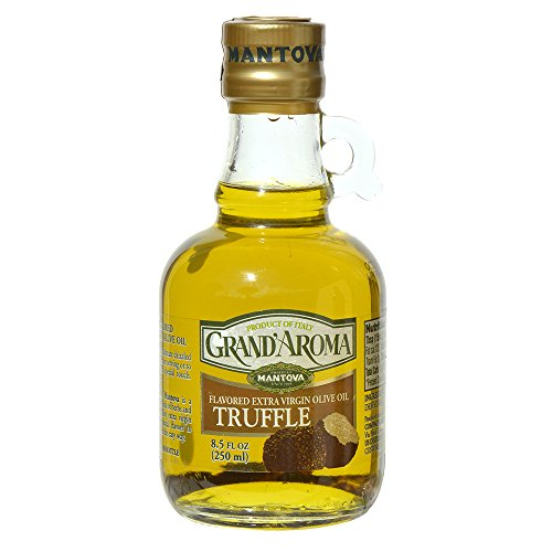 Mantova Grand Aroma Truffle Extra Virgin Olive Oil 8.5 oz (Pack of 2)