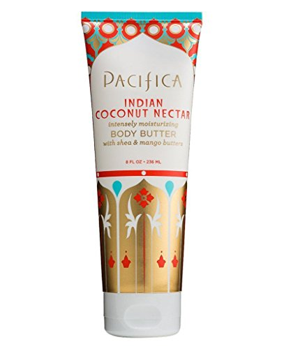 (Pacifica Body Butter Tube, Indian Coconut Nectar, 8 Ounce)