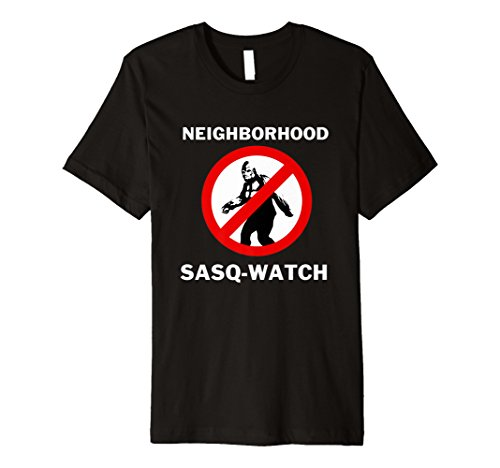 (BigFoot Yeti Funny T-Shirt Neighborhood Sasq Watch)