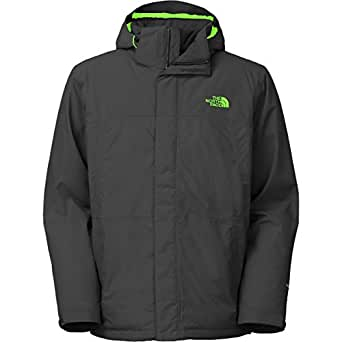 The North Face Inlux Insulated Jacket for Men (Small, Asphalt Grey/Asphalt Grey)