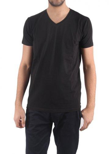 Jack & Jones Herren T-Shirt 6121 Town V-Neck Gr.S - XXL Neu, schwarz