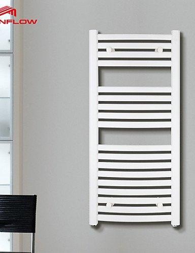 haisi Radiador-calentador de toallas, Modern acuosa montaje en pared toallero: Amazon.es: Hogar