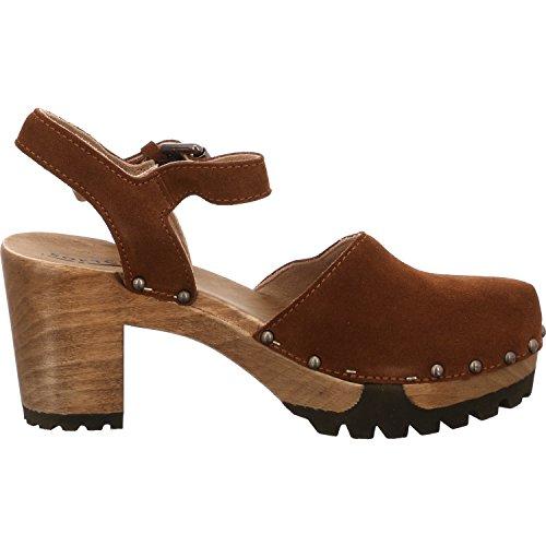 Softclox Clog-sandale | Softclox Tilstoppe-sandale | Onda | Onda | Cognac - Brun Cognac Cognac - Brun Cognac lCAwOSbMu