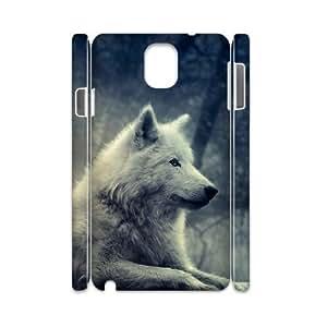 GGMMXO Gray Wolf Shell Phone Case For samsung galaxy note 3 N9000 [Pattern-1] Kimberly Kurzendoerfer