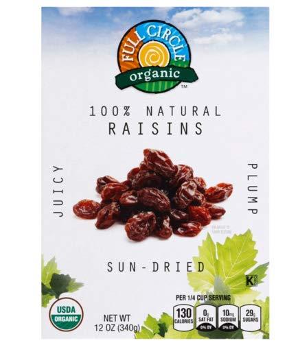 Full Circle, Raisins (Pack of 18)