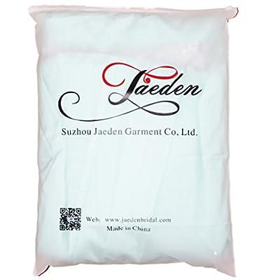 JAEDEN Sweetheart Bridesmaid Dresses Chiffon Long Prom Evening Gown Pleat