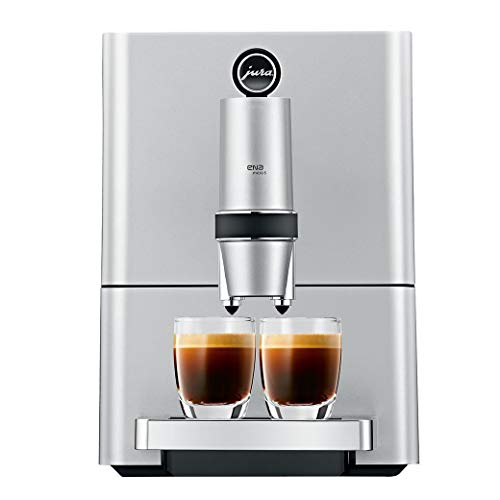 Jura 15106 ENA Micro 5 Automatic Coffee Machine, Silver (Renewed)