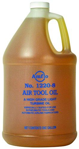 Plews & Edelmann 1220-8 Air Tool Oil, 1 Gallon Jug