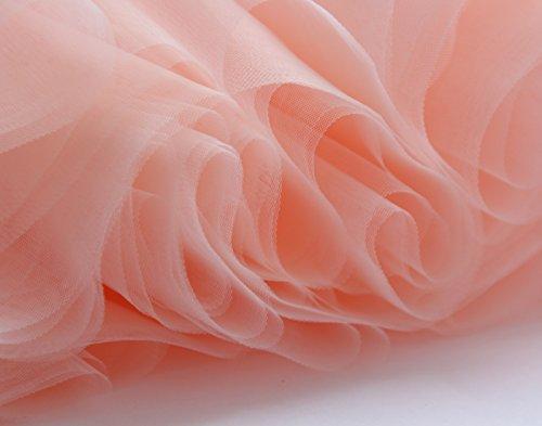 Livelli Tulle 50cm Di Gonna Donne 7 Gonna Principessa Sottogonne Facent Rosa Antico Tutu wqCE4t1