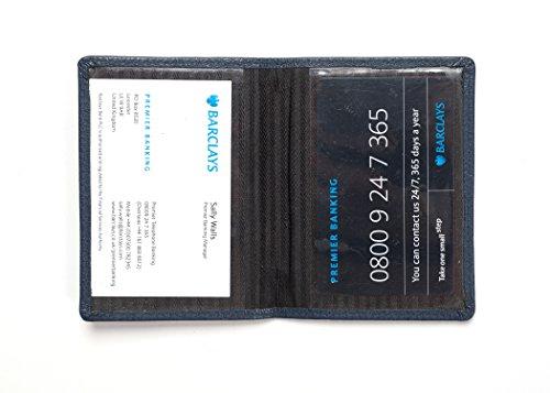 scuro Titolare Abbeygate pelle blu della carta in in multifunzione pelle rCrq8H