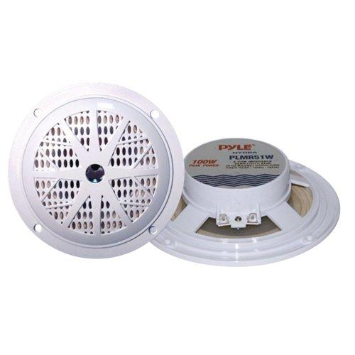 Pyle Plmr51w Dual Cone Waterproof Stereo Speakers (5.25)