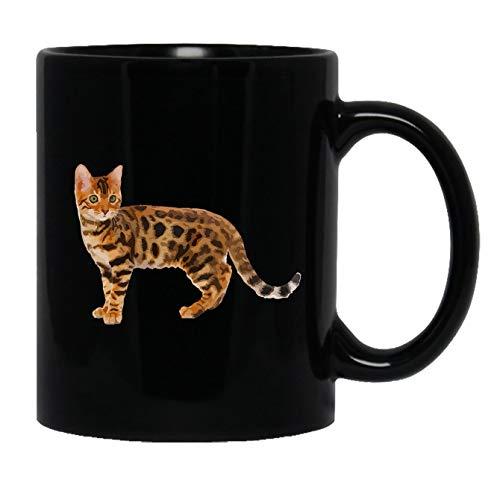 Bengal Cat Mug, Ceramic Mug, Tea Cup For You 11 oz